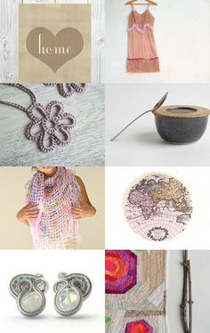Mighty pretty in pink! by Lisa Hulitzky on Etsy--Pinned with TreasuryPin.com