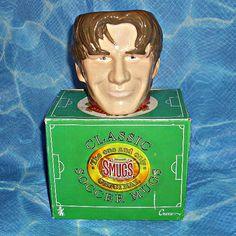 David Beckham Smugs Original Ceramic Mug Football Memorabilia Manchester United 3D Effect Croco Toys English Footballer Soccer Vintage - SOLD OUT