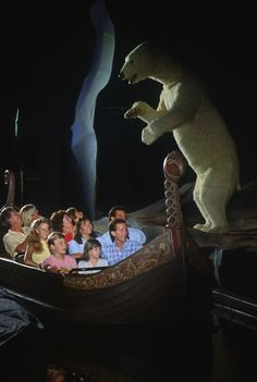 The Maelstrom Ride at Epcot's Norway Pavilion opened in May of 1988.