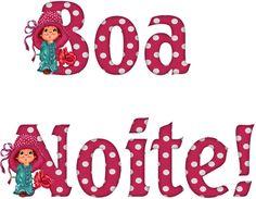 Alfabeto Decorativo: Boa Noite! - Alfabeto Infantil 3 - PNG