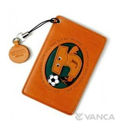 Soccer-J Leather Commuter Pass/Passcard Holders