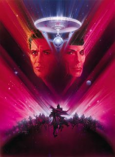 The most misunderstood movie of all Star Trek. I like it, no matter what anyone else says. Thanks Bill!!