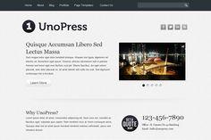 UnoPress Wordpress Theme