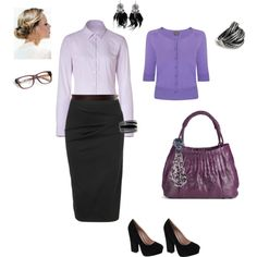 Easy to wear, created by karina-villagra on Polyvore