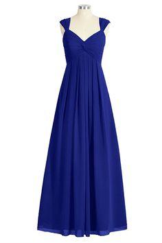 Tivansi Women's Long Chiffon Straps V-neck Bridesmaid Dresses *** Remarkable product available now. : Bridesmaid Dresses