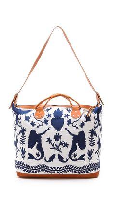Stela 9 Allende Weekender. LOVE THIS!!!!!!! Would be so cute as a travel/weekender bag.