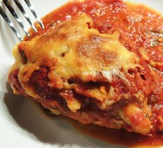 Leave a Happy Plate: Healthified Chicken Parmesan (Gluten Free)