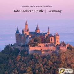 Hohenzollern Castle is the ancestral seat of the imperial House of Hohenzollern. The third of three castles on the site, it is located atop Berg Hohenzollern, a 234-metre bluff rising above the towns of Hechingen and Bisingen .A popular tourist destination, Hohenzollern castle has over 300,000 visitors per year, making it one of the most visited castles in Germany.