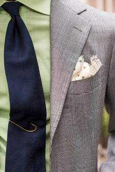 """The work of details…that fish hook """"tie clip"""" can be found on eBay for a few bucks if you're so inclined."""
