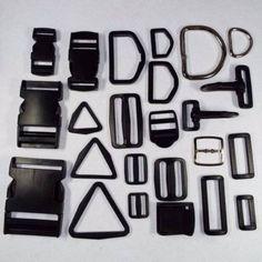 Plastique-metal-sangle-sangle-de-montage-boucle-d-ring-clip-curseur-20-25-38-50mm