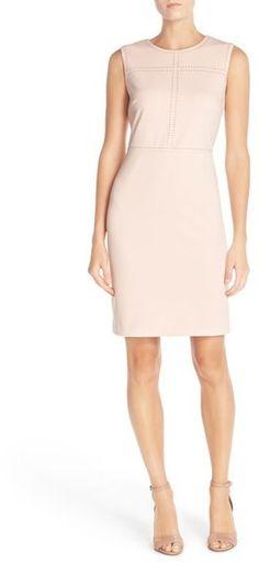 Ivanka Trump Sleeveless Sheath Dress