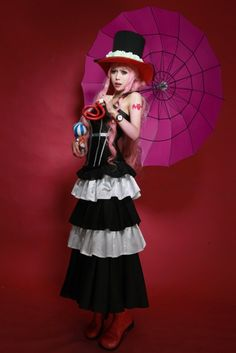 One Piece Ghost Princess Perona Cosplay [9P]