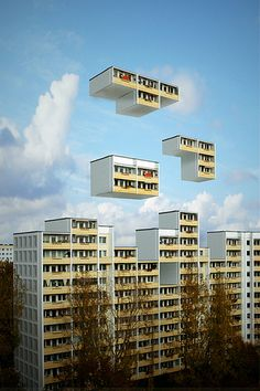 Image discovered by maris. Find images and videos about berlin and tetris on We Heart It - the app to get lost in what you love. Photomontage, Motion Design, Berlin, Luxor Egypt, Video Game Art, Architecture, Les Oeuvres, We Heart It, Street Art