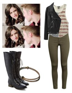 Hayden Romero 5x19 - tw / teen wolf by shadyannon on Polyvore featuring Wet Seal, Acne Studios and H&M