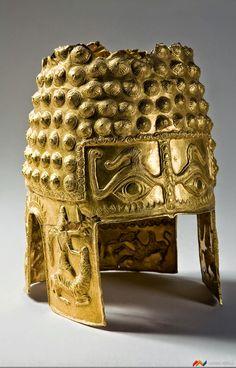 Gold Helmet, Coțofenești, Romania, 4th century BC