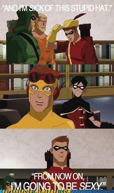 hahahaha! love Speedy ... I mean Red Arrow!