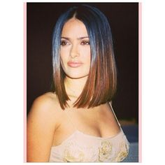 Love this color and haircut on this Latina beauty #SalmaHayek