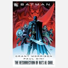Batman: The Resurrection of Ra's, $25.50, now featured on Fab.
