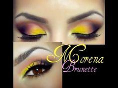 Maquillaje en purpura - YouTube