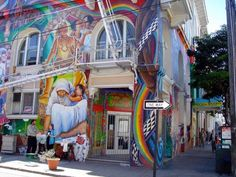 Mission Street Hippie San Francisco