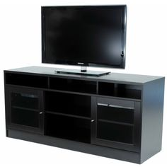 Jesper Office 63-inch TV Cabinet with Soundbar Shelf - Overstock™ Shopping - Great Deals on Jesper Office Entertainment Centers