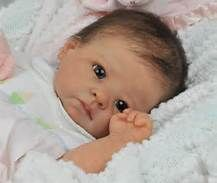 Forever Wee Ones~ Beautiful Reborn baby ~ mottled complexion~fake baby