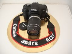 Canon 500D By verasantos on CakeCentral.com