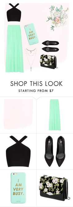 """time to party"" by sarah-004 on Polyvore featuring BCBGMAXAZRIA, ban.do and Rochas"
