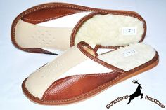 Reeves Three Layered Leather Warm Slipper
