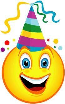 smiley with party hat smileys emoticon smiley