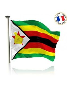 Drapeau Zimbabwe Made In France by Manufêtes