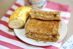 Sandwich Recipe : Grilled Peanut Butter and Banana Sandwich