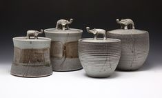 Good Elephant Pottery handmade by artist Mea Rhee