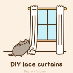 [Do-It-Yourself Home Decor Tips (from your cat)] Pusheen The Cat #128A