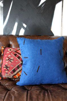 Image of VOLT Pillow // INDIGO