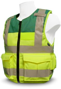 PPSS Stab Resistant Vest - specially designed as hi viz model for paramedics/EMS