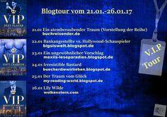 """#Blogtour Tolle Neuigkeit für Fans von LILY WILDE! Freut Euch ab dem 21.01. auf eine tolle Blogtour zur """"VIP-Serie""""! #Erotik #Blogger"""