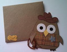 Misty's Scrappy Stuff cowboy sizzix #2 owl