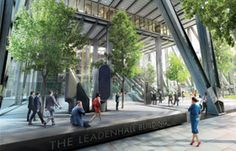 At ground level, almost the entire footprint of the building will be a 28-meter-high open public space. This will provide pedestrian routes across the site and a sheltered urban environment.