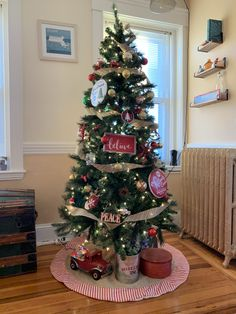 Inspired by our early brownstone Christmas Tree, Inspired, Holiday Decor, Inspiration, Home Decor, Teal Christmas Tree, Biblical Inspiration, Homemade Home Decor, Xmas Trees