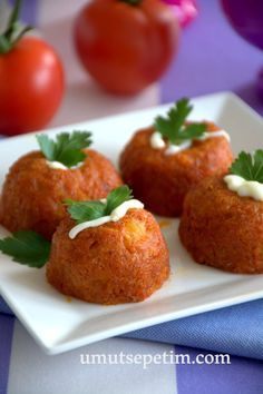 Appetizer Salads, Appetizers, Turkish Recipes, Ethnic Recipes, Bulgur Salad, Tomate Mozzarella, Potato Dishes, Middle Eastern Recipes, Vegan Snacks