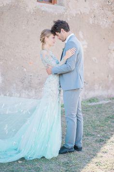 Beautiful Fine Art Wedding Inspiration from Greece