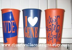 different spin on traditional tailgate cups