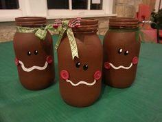 Gingerbread jars.