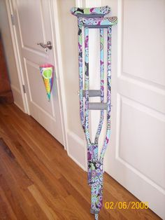 how to make your crutches more comfortable