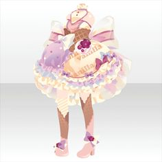 melt with you|@games -アットゲームズ- Cute Anime Chibi, Kawaii Chibi, Character Concept, Character Design, Anime Halloween, Anime Poses Reference, Anime Dress, Cocoppa Play, Model Outfits