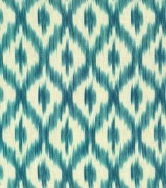 Upholstery Fabric-Williamsburg Dedra Peacock