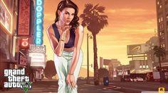 GTA V Hot Girl. HD desktop wallpaper : High Definition