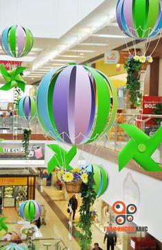 Оформление ТЦ Hobbies And Crafts, Diy And Crafts, Crafts For Kids, Paper Crafts, School Decorations, Christmas Decorations, Fashion Window Display, Store Signage, Graduation Theme