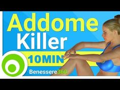 Allenamento Killer per Addominali di 10 Minuti. Addome Scolpito e Pancia Piatta. - YouTube